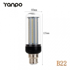 RANPO B22 30W LED Corn Bulb 4014 SMD Light White Lighting Lamp Ultra Bright