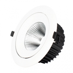 RANPO 5W Recessed COB LED Ceiling Light Downlight Bulb Lighting Lamp