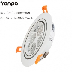 RANPO 30W Recessed LED Ceiling Light Downlight Bulb Cool White Lamp AC 220V + Driver