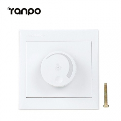 Ranpo Adjustable Controller LED Dimmer Switch For Dimmable Light Bulb Lamp 110V