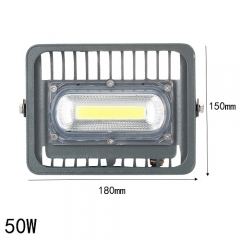 RANPO 50W Waterproof IP66 COB Chip Led Outdoor Floodlight Bulb Lamp White Light