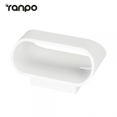 RANPO LED Wall Lamp Modern Simple Bedroom Bedside Light Corridor Wall Lighting Fixture