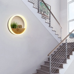 RANPO Led Wall Lamp LED Sconce Light Acrylic Modern Home Decoration warm Lamps 85-265V