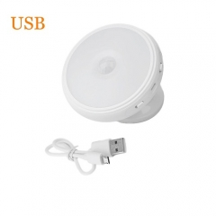 LED Induction Night Lights Energy Saving Sensor Bulbs 360 Degree Rotating Lamp