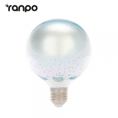 RANPO G80 LED Light Bulb E27 3D Fireworks Decorative Edison Party Lamp