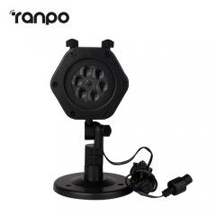 RANPO Waterproof Landscape Laser Projector Light 11 Patterns Outdoor Garden Xmas Lamp