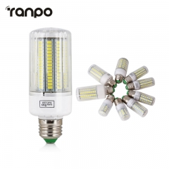 5730 SMD LED lamp Blubs E27 220V Corn Lights 24 30 42 64 80 89 108 165Leds Radiation cover lampada Led Candle Lighting Warm Cool