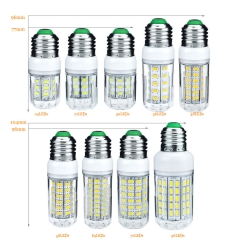 Ranpo 1PCS E27 LED Corn Bulbs 3W 5W 7W 9W 12W 15W 18W 20W 25W AC 220V 110V 5730 SMD LED Lamapara Spotlight Chandelier Candle Lights