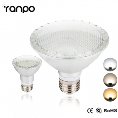 RANPO E27 LED Spotlight Bulb 2835 SMD PAR20 PAR30 PAR38 14W 24W 30W AC 85-265V Lamp Bright Corn Light High Power  Lamprada 85-265V Not Dimmable