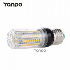 Ranpo E26 E12 E27 E14 LED Corn Bulb 5W 6W 9W 12W 15W 2835 SMD Light Lamp AC 110V 220V Super Bright  Sportlight For Home Decor Lighting