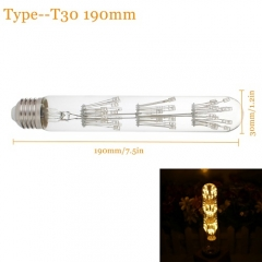 RANPO ST30 E27 Edison LED Filament Bulb Star Lights Christmas Decor Lamp 220V