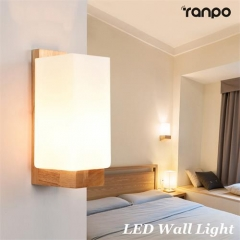 Modern LED Wall Light E27 Indoor Cube Sconce Lighting Decorate Lamp Fixture 220V