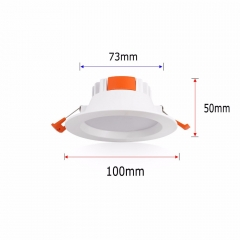 RANPO Super Bright Downlight 7W 9W 15W 21W 35W AC85-265V CREE Recessed LED Panel Light Epistar Ceiling Down White Bulb Spot Lamps
