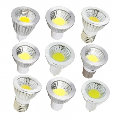 RANPO GU10 MR16 E27 E14 Led Spotlight Lamp 220V 110V GU5.3 Leds Light 6W 9W 12W COB Lamps Bombillas Led Lamparas Lights For Lighting