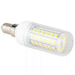Ranpo 10 pcs/lots E14 LED Corn Bulb 5730 SMD 56 Leds Lights Lamp AC 220V 240V Warm Cold White Chandelier Lamparas