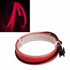 Ranpo New Arrivals 5 Colorful 1m EL tape Flexible Neon Rope Light Glow EL Wire Cable waterproof led strip light 3V Ribbon Decor Party