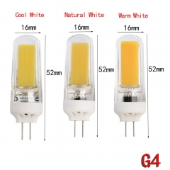 Ranpo New Arrival Dimmable AC110V 220V 9W G4 G9 Silicone Crystal LED Corn Bulb SpotLight Warm/Cool/Natrual White Leds Lampada 1PCS