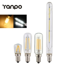 Ranpo Retro Edison Bulb E14 T20 T25 T26 2W 3W 4W Led Lamp Candle Light Filament Energy Saving Glass Bulb Lampada Home Lighting