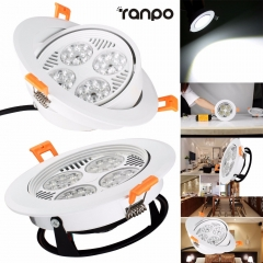 Ranpo 30W Recessed LED Ceiling Light Downlight Bulb Cool White Lamp AC 220V + Driver led Down Lights