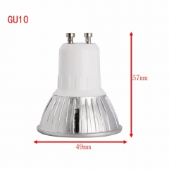 Ranpo Dimmable Led Spotlights 3W GU 10 E12 E14 E27 B22 GU5.3 LED Bulbs Light 110V 220V Warm/Cool White Base LED Downlight Super Bright
