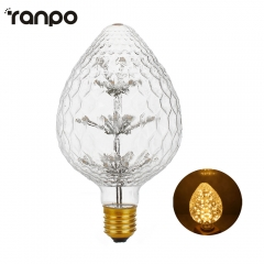 Ranpo New Arrival 2W LED Bombilla Edison Lamp E27 Vintage Bulb Light Lampada Edison Bulb Retro Lamp Ampoules Home Decoratives
