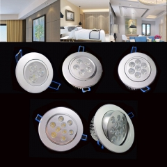 Ranpo LED Spotlight 3W 5W 7W 9W 12W 15W Epistar LED Recessed Spot Down Light Ceiling Lamp Cold White Warm White For Home Lighting