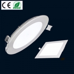 Ranpo 4PCS/Pack Ultra Thin Led Dimmable AC110V Epistar Recessed LED Panel Light 3W 6W 9W 12W 15W 18W Ceiling DownLights Square&Round
