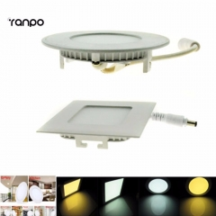 Ranpo 9w Dimmable LED Recessed Ceiling Panel Spot Light Bulb Down Lamp Warm/Cool White