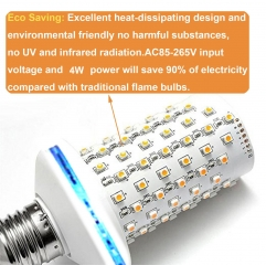 Ranpo LED Flame Effect Light Bulb Blinbling E27 Flickering Simulation Fire XMAS Lamp