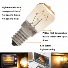Ranpo LED Oven Light Cooker Hood Bulb E14 15W 25W SES High Temperature 300 Degree Lamp 220-240V