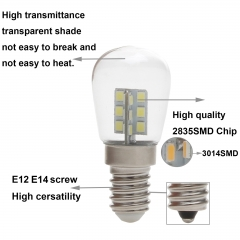 Ranpo Mini LED Corn Light Freezer Fridge Bulb E14 E12 3W 4W 2835 3014 SMD Lamp AC 110V 220V