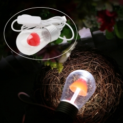 Ranpo USB Magnet-lamp Mushroom Mini Bulb 3W LED Night Light DC 5V Cool White For Decor
