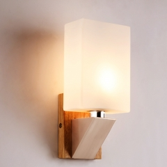 RANPO Modern LED Wall Light E14 Base Indoor Cube Sconce Lighting Decorate Lamp Fixture 220V