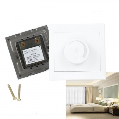 Ranpo Adjustable Controller LED Dimmer Switch For Dimmable Light Bulb Lamp 110V 220V