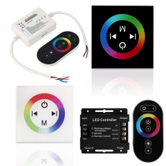 Ranpo 18A Wireless RF Touch Panel Wireless Remote Controller For for smd 5050 3528 5630 led strip Light DC 12v Single Color Light