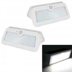 RANPO 14W Waterproof LED Solar Power PIR Motion Sensor Wall Light Outdoor Yard Garden Lamp