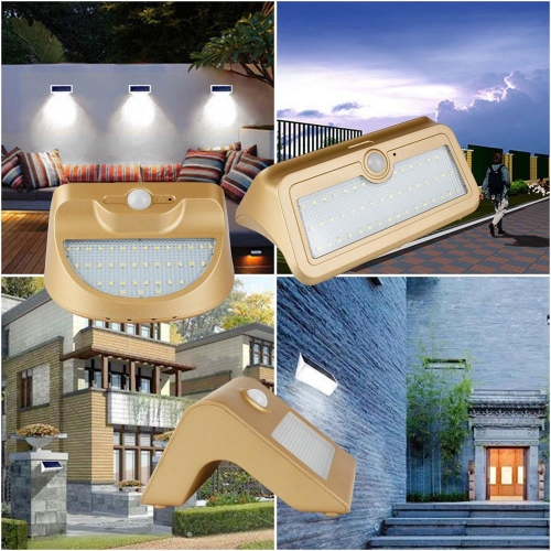 RANPO 14W Waterproof Solar Power LED Landscape Walkway Light Outdoor Lighting Garden Lamp