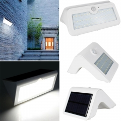 RANPO 11W Waterproof LED Solar Power PIR Motion Sensor Wall Light Outdoor Yard Garden Lamp