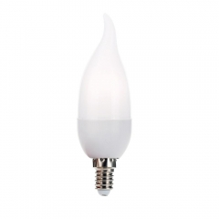 RANPO E14 3W LED Bulb Flame Chandelier Candle Light 2835 SMD 85-265V