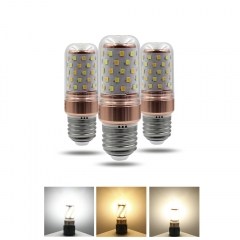 RANPO 12W E14 3 Colors LED Corn Bulb Candle Light 2835 SMD White Lamp