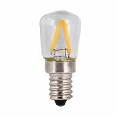 RANPO 2W E14 T26 Retro LED Bulb Candle Light Filament Edison Lamp Warm White 220V