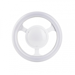 RANPO E27 24W LED Steering Wheel Light Ring Bulb Lamp Downlight Ceiling Lights 85-265 V