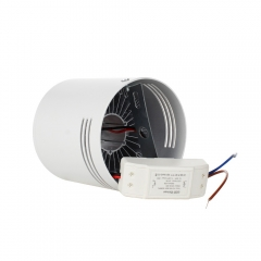 RANPO Dimmable White Shell 3W LED Ceiling Downlight Surface Mounted Fixture 110V 220V