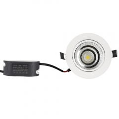 RANPO 9W Recessed COB LED Ceiling Light Downlight Bulb Lamp AC 85-265V + Diver