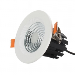 RANPO 5W LED Recessed Ceiling Downlight Bulb Round Lamp AC100-265V