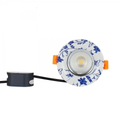 RANPO 5W Recessed LED Ceiling Down Lights COB Bulb Panel Light Lamp 85-265V