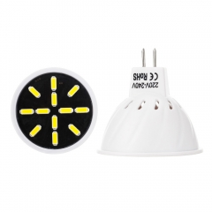 RANPO MR16 5W LED Bulb Spotlight 7030 SMD Lamp 110V 220V Save Energy