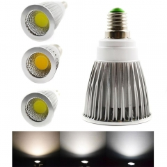 Ranpo E14 COB Spotlight 6W LED Down Light Lamp Bulb High Power Day/ Warm /Cold White 85-265V Energy Saving Free Shipping
