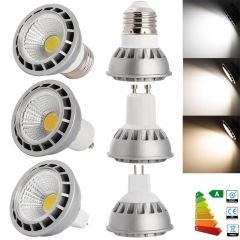 RANPO Ultra Bright Dimmable LED Spotlight E27/E26/GU10/MR16 15W COB Bulb CREE Lamps