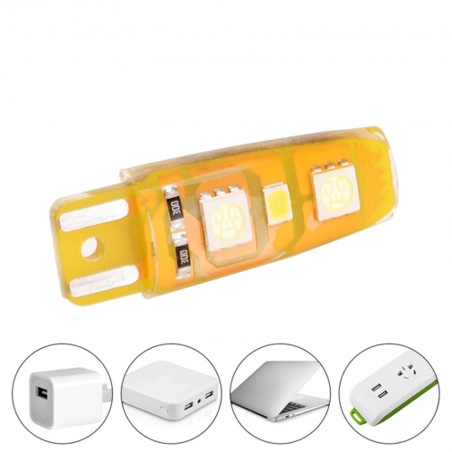 Ranpo Two-Color Portable Mini USB 2W LED Night Light Silicone Bulbs 5050 2835 SMD 5V